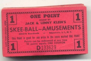 Jack & Lenny's Skee-Ball coupon