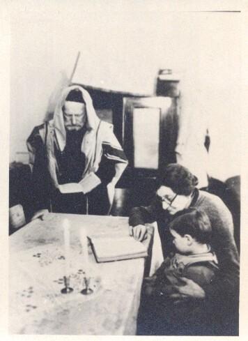 UDEN RABBI WARSAW GHETTO SYNAGOGUE POLAND