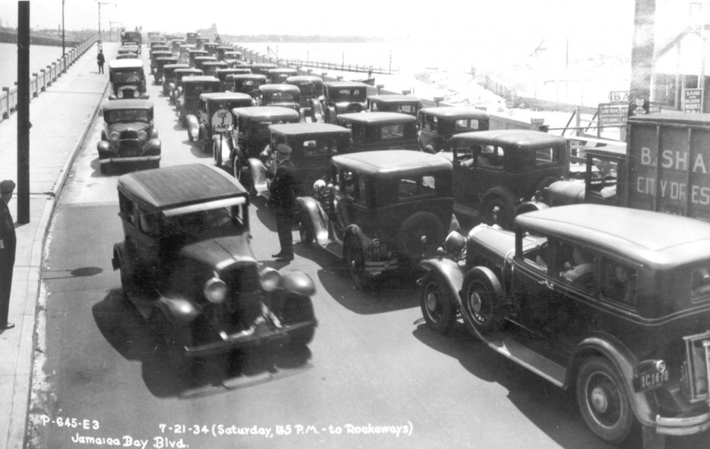 Crossing Jamaica Bay to the Rockaways (1934)