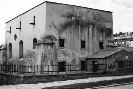 Remnants of the Synagogue in Pinczow