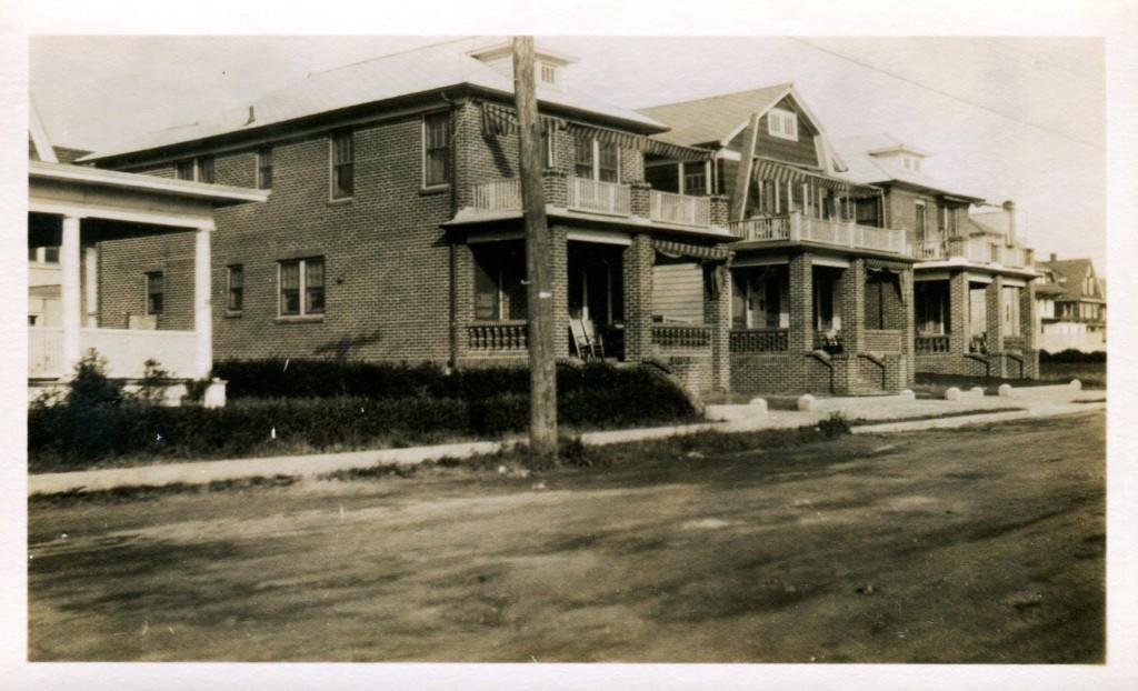 1926 - Beach 125 Between Rockaway Beach Boulevard and Newport Avenue — with Peggy Woods Whelan.