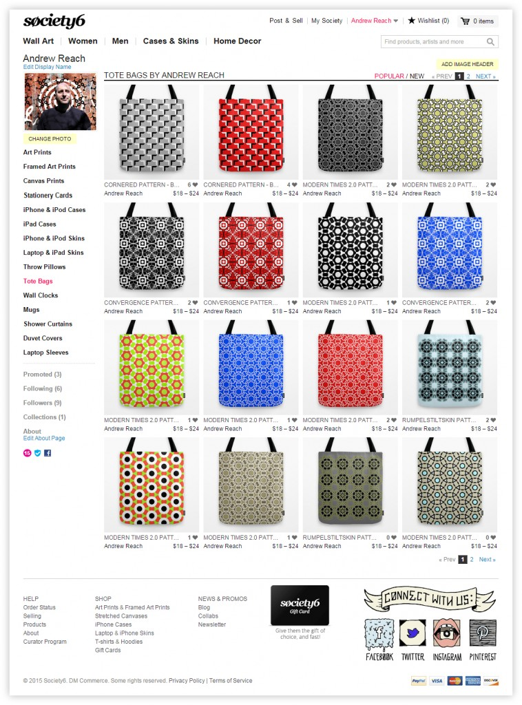 society6_ToteBags_screenshot